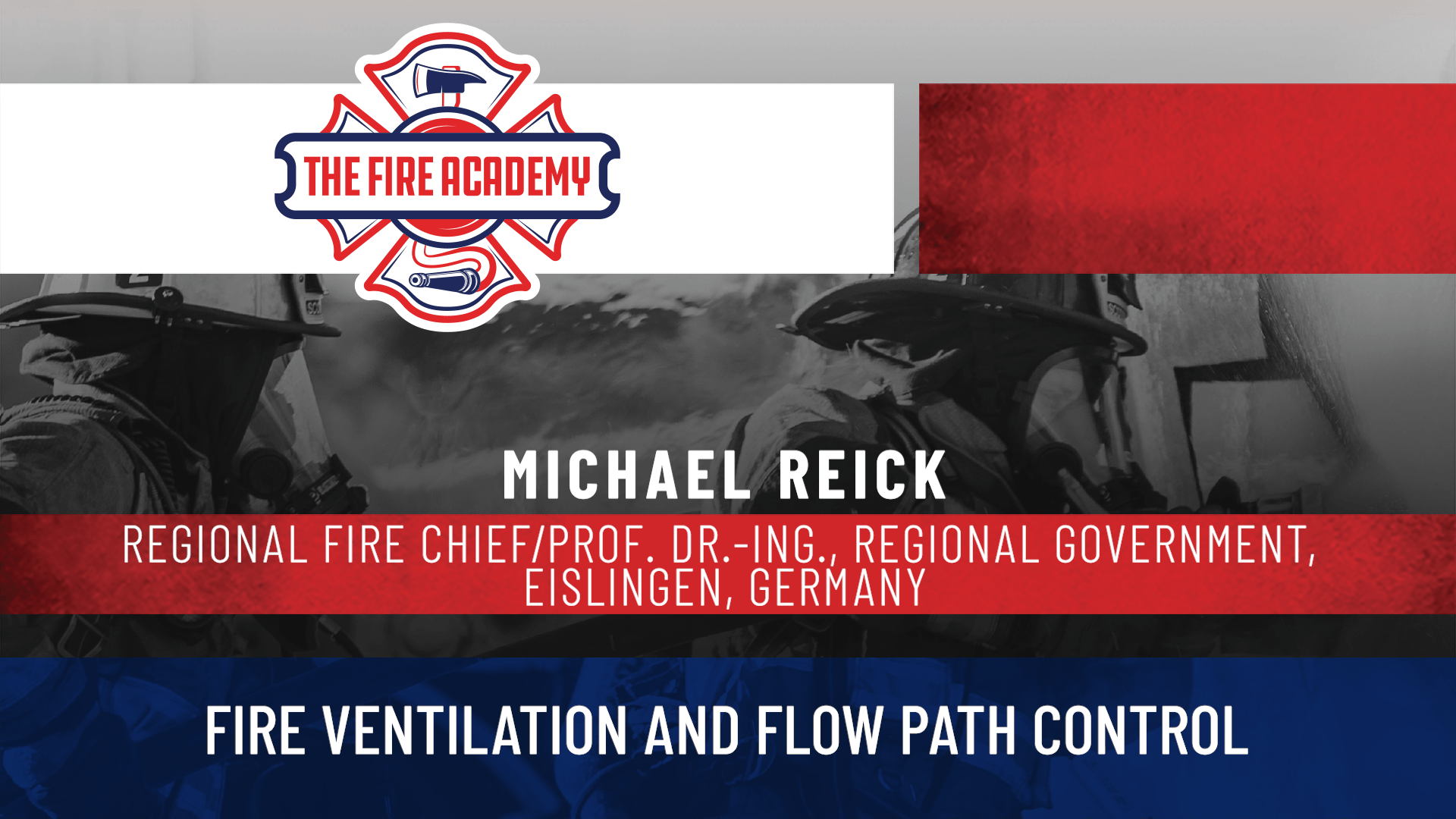 Fire Ventilation and Flow Path Control