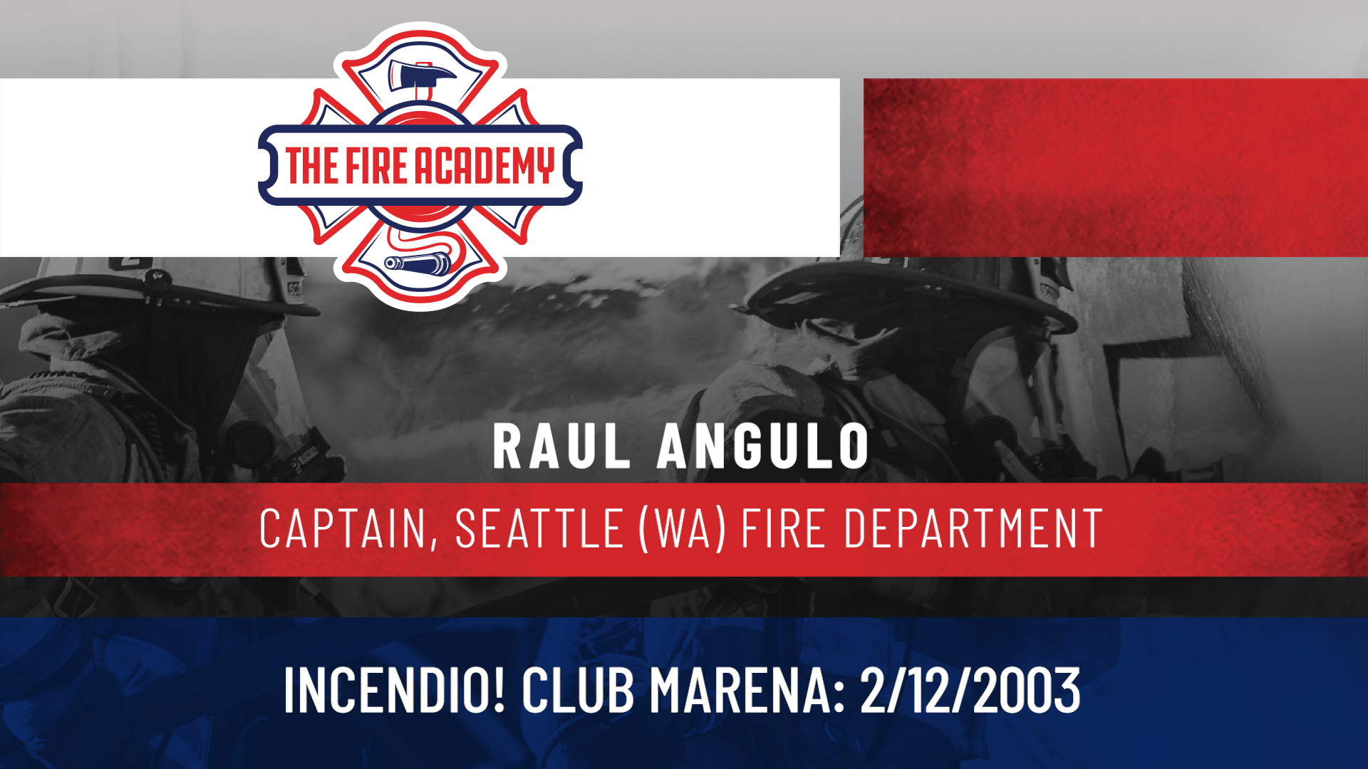 Incendio! Club Marena: 2/12/2003
