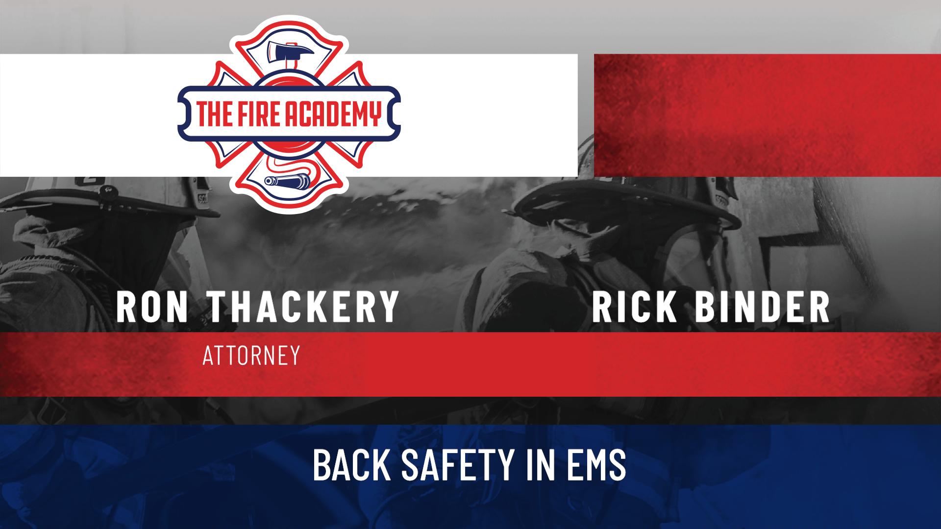 Back Safety in EMS