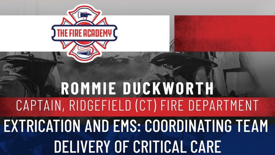 Extrication and EMS: Coordinating Delivery of Critical Care