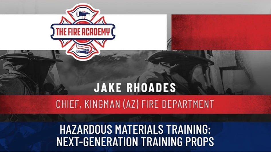 Hazardous Materials Training: Next-Generation Training Props